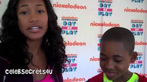 Sydney Park & Tylen Jacob Williams Interview - Nickelodeon's WWDOP ...
