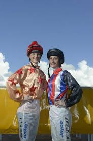 Jockeys Cassie and Priscilla Schmidt at the Grafton Racecourse. Photo ... |  Buy Photos Online | Chinchilla News