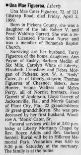 Garrett, Una Mae Obituary - Newspapers.com