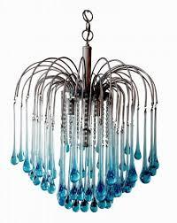 crystal teardrop chandelier