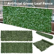 1x3m Artificial Ivy Leaf Fence Green Garden Yard Privacy Screen Hedge Plants Maple Leaves Lazada Ph