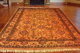 persian handwoven wool pile rug