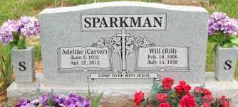 SPARKMAN CARTER, EMMA ADELINE - Crawford County, Arkansas   EMMA ADELINE  SPARKMAN CARTER - Arkansas Gravestone Photos