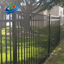 China Aluminium Fence Panels For Garden Fencing Galvanized Steel Wrought Iron Fence China Risidential Fence And Pvc Fence Price