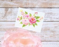 Peony Flower Bouquet Sticker Bright Pink Floral Vinyl Etsy