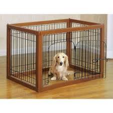 Richell Wood Pet Pens Pens Petsmart Indoor Dog Fence Animal Pen Indoor Dog