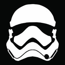 First Order Trooper Star Wars Vii Bumper Sticker Window Truck Decal Vinyl Ebay