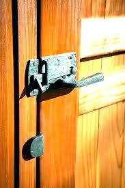wooden gate lock both sides alphamd co