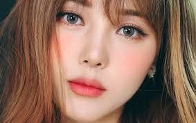 tutorial make up korea peachy look