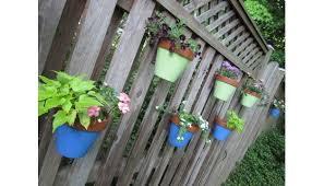 Garden Pot Hangers Flower Poles Orchid Hanger Hang A Pot Flower Pot Hanger Flower Pots Outdoor Fence Hanging Planters