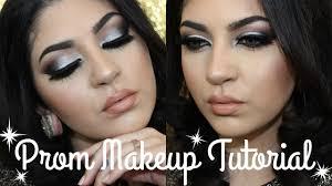 smokey eye prom makeup tutorial