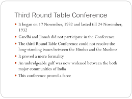 ppt round table conferences