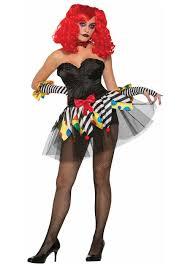 evil clown tutu women accessories