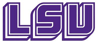 Ncaa0767 Louisiana State Lsu Tigers Logo Die Cut Vinyl Graphic Decal Sticker