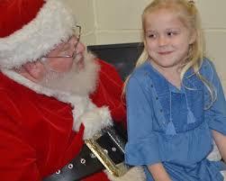 CES kindergarten students visit with Santa - Campbellsville Elementary  School