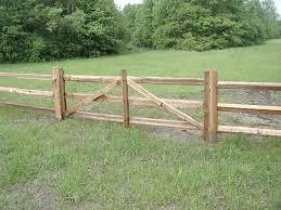 Wood Split Rails Cedar Cedar Split Rail Fence Wood Fence Split Rail Fence