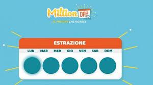 Estrazione Million Day oggi 8 gennaio 2020: numeri vincenti ...