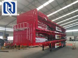 Fence Cargo Trailer Light Self Weight Cargo Semi Trailer Truck Used In Logistic Industry