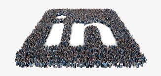 Linkedin Logo Made Out Of People - Linkedin Ipo Transparent PNG - 704x345 -  Free Download on NicePNG