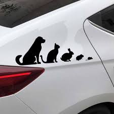 Metvi Cute Rabbit Car Sticker For Auto Vinyl Stickers On Cars Body Detailing Decorations Accessories Buy At A Low Prices On Joom E Commerce Platform