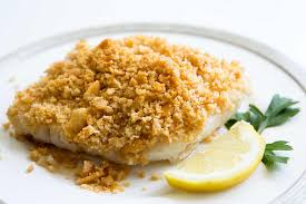 Baked Cod with Ritz Cracker Top {SO ...