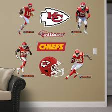 Kansas City Chiefs Power Pack Kansas City Chiefs Nfl Kansas City Chiefs Sports Wall Decals Chief