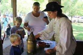 Visitors flood Ninety Six Historical Site for last re-enactment of season    News   indexjournal.com