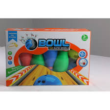 bowling ball toys set with 10 pins