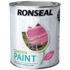 Ronseal Garden Paint 750ml Furniture Topline Ie