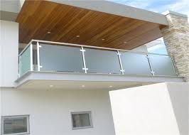 stainless and glass barade