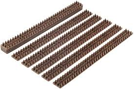 Amazon Com Bird Spikes Set Of 10 X 48 8 Cm Anti Climbing Security For Your Fence Walls Railings To Prevent Human Intruders Animals Or Birds For A Safe And Secured