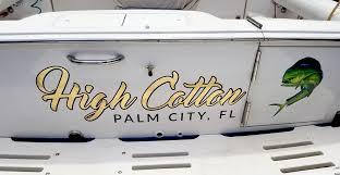 Boat Decals In Florida Boat Lettering Expert Of Stuart Jensen Beach Fort Pierce Port Salerno Jupiter