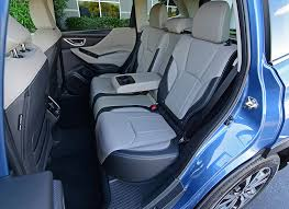2019 subaru forester limited rear seats