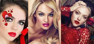 20 valentines day face makeup ideas