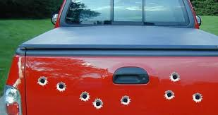 Bullet Holes Car Decals Dezign With A Z