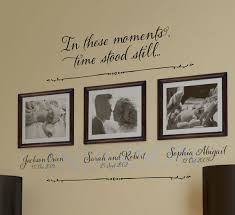 In These Moments Time Stood Bliss Version Wall Decal