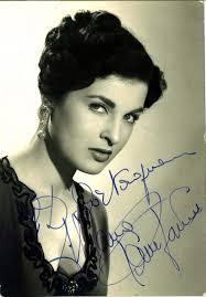 Silvana Pampanini 26 March 1955 Milan