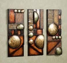 abstract metal wall art sculptures
