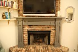easy fireplace mantel diy checking in