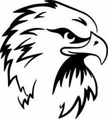 Tribal Bald Eagle Head Car Window Vinyl Decal Sticker 01259 Bird Usa America