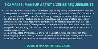 how to bee a certified makeup artist