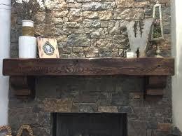 cedar beam fireplace mantel lynnette