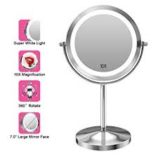 gospire 10x magnified lighted makeup