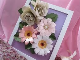 artificial flower decorative photo frame