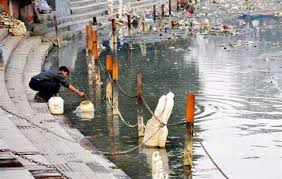 Real Time Monitoring System For Measuring Pollution In Ganga