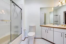 glass shower doors clean