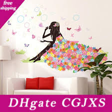 Wholesale Wall Decals Baby Girl Buy Cheap In Bulk From China Suppliers With Coupon Dhgate Com