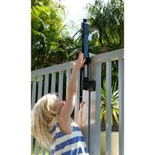 Keep Your Kids Safe With Child Proof Pool Latches The American Fence Company