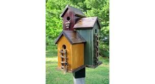35 nichoirs et mangeoires à oiseaux à