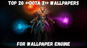 dota 2 wallpapers for wallpaper engine